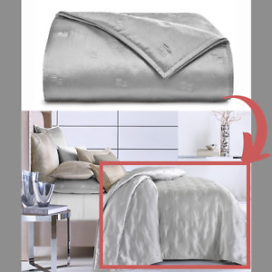 NIB $385 Hotel Collection Terra Full/Queen Quilted Coverlet Blanket #D108