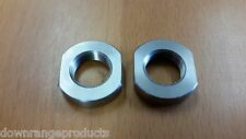 .223 5.56 1/2x28 Jam Nut Stainless Steel  for Muzzle Brake Flash Hider Made USA!