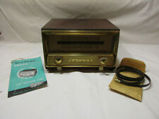 Rare Find!  1953 PHILCO External UHF Converter, Model 200X, 14-1885, Wooden Case