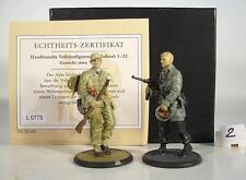 Atlas 1/32 WWII L0775 Wehrmachtssoldat & Leutnant in Box #2