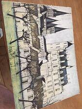 Châteaux de la Loire.. Bernard Buffet..Galerie Garnier 1970