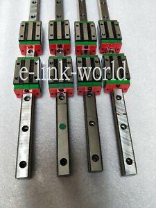 4 set HGR25-2000mm Hiwin-Linear Rail & 8 pcs HGH25CA Block Bearing