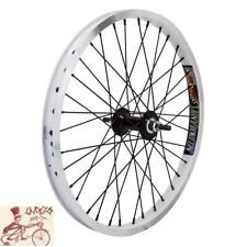 "WHEEL MASTER  DM30 DOUBLE WALL 20"" x 1.75""  ALLOY SILVER BICYCLE FRONT WHEEL"