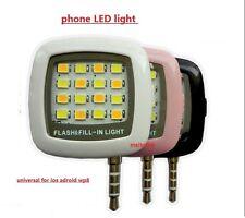 Flash universal para smartphone,móvil, fotos nocturnas, 3 colores, ENVÍO GRATIS
