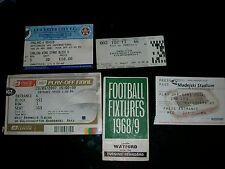 Derby County V West Bromwich Albion o Lupi PLAY OFF finale 2007 FREE POST