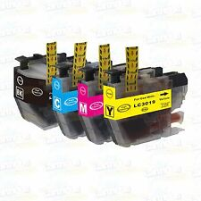 4PK LC3019 Super High Yield Ink For Brother MFC-J5330DW MFC-J6530DW MFC-J6930DW