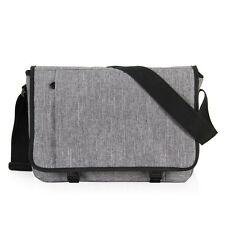 Men's Canvas Messenger Cross Body Bag Satchel 15'' Laptop School Mochila Bag