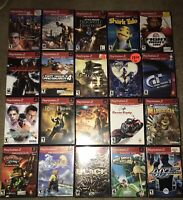 Collection Lot Of 20 PlayStation PS2 Greatest Hits Games Black Devil May Cry +