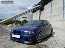 For BMW E46 Front Sport Bumper - spoiler flaps set elerons M Power tuning csl