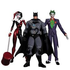 DC Collectibles Batman Hush Action Figure 3 Pack Joker, Harley Quinn SEALED