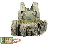 MULTICAM 1000D MOLLE CIRAS Force Recon Assault Vest Ver Land 7 Pouches