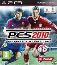 PES 2010 PRO EVOLUTION SOCCER 2010 PS3 sigillato nuovo brand new