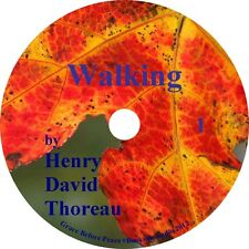 Walking by Henry David Thoreau a Classic Audiobook of Nature and Man on 1 MP3 CD