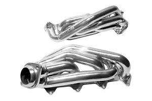 """2005-2010 Ford Mustang GT 4.6L BBK 1 5/8"""" Silver Ceramic Short Tube Headers"""
