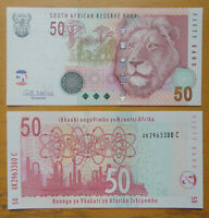 South Africa Banknote 50 Rand 2009 UNC