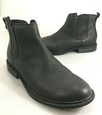 Mark Nason Mens 11.5 Cobden Chelsea Black Leather Ankle Boots 68238