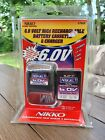 NIKKO 6.0V Volt Ni-Cd 4 Hour R/C Battery and Battery Charger NEW IN PACKAGE 1769