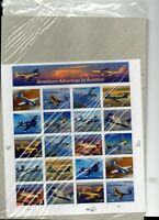 us scott # 3916-25 37c xf mnhog sheet of (20) stamps sa Advanced Aviation 2005 c