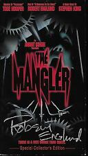 THE MANGLER - SIGNED BY ROBERT ENGLUND VHS