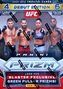 2021 Panini Prizm UFC Debut Edition Cards - *SEALED* BLASTER PACK & BLASTER BOX