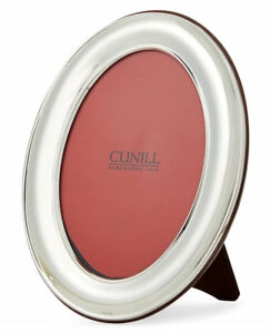 Cunill Sterling Silver Oval Plain 8X10 Picture Frame