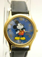 DISNEY MICKEY Mouse Blue Dial WATCH LOT 111