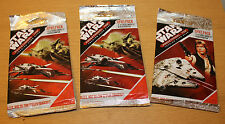 STAR WARS 3 X POCKET MODEL TRADING CARD GAME UNOPENED BOOSTER PACKS GERMAN