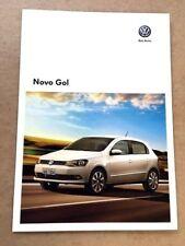 2013 VW Volkswagen Novo Gol Brazil Original Car Sales Brochure Catalog