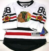 NWT Reebok NHL Stitched Chicago Blackhawks Patrick Kane #88 Youth Jersey S/M