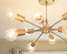 About the product 12 arms modern brass chandelier light fixture.This particular