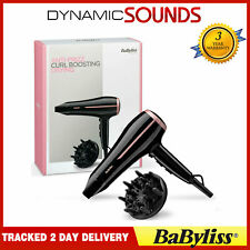 BaByliss Curl Dry Hair Dryer 2100W Ionic Frizz-Control Large Diffuser Attachment