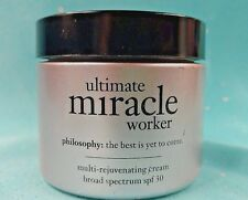 PHILOSOPHY ~ULTIMATE MIRACLE WORKER~ Multi-Rejuventating Face Cream SPF30 ~2 oz~