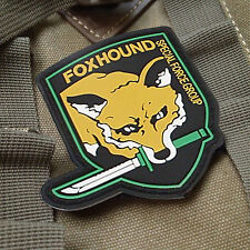 USA Foxhound USA ARMY TACTICAL Specia Force Group PATCH Morale Badge