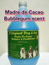 Organic Dog & Cat Shampoo with Madre De Cacao! 3.2 Liters! Various Scent!