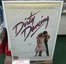 DIRTY DANCING POSTER  SPECTACULAR NEW VINTAGE RARE OOPS LIMITED PRODUCTION