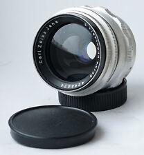 Rare! Early Carl Zeiss Jena FLEKTOGON Silver f/2.8 35mm Lens M42 12-blades