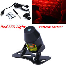 Meteor Star Red LED Car Ambient Ceiling Light USB Galaxy Lamp Projector 8V~36V