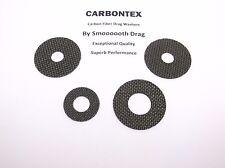 SHIMANO REEL PART Trinidad 16A 4 Smooth Drag Carbontex Drag Washers #SDS17
