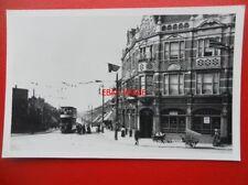 PHOTO  LONDON TRANSPORT TRAM OUTSIDE THE BELL PUBLIC HOUSE