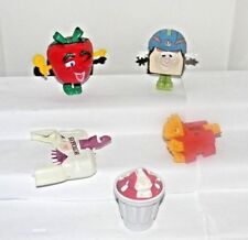 McDonald Toys~1993 Food FUNdamentals~1990 Changeables + Ice Cream Sundae Eraser
