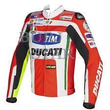 Ducati Motorbike Motorcycle Racing Leather Jacket