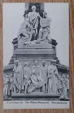 POSTCARD: LONDON, ALBERT MEMORIAL, MANUFACTURES: c1914-18