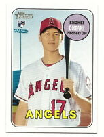2018 TOPPS HERITAGE SHOHEI OHTANI ROOKIE CARD RC (#600) (LOS ANGELES ANGELS)