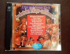 Doppel-CD - Die goldene Zeit der deutschen Schlager- und Filmmusik Vol. 6