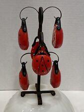 Tall Hanging Lady Bug Tree Salt & Pepper Shaker Set