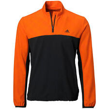 Adidas Performance Stretch 1/2 Zip Wind Jacket (M) Orange AE9272