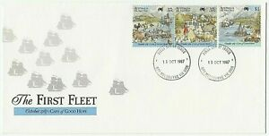 1987 FIRST DAY COVER ISSUE FDC 'THE FIRST FLEET - CAPE OF GOOD HOPE'