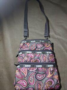 Le Sportsac Paisley Crossbody Bag