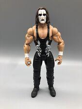 WWE Mattel Basic Series 55 Sting Wrestling Figure WCW NWO AEW Crow 2015 Stinger