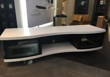 NEW Showroom DEMO: BDI 8137 OLA HomeTheatre Cabinet (Satin White)